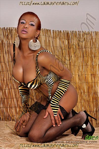 Black Shemale Escorts in Alicante Karem