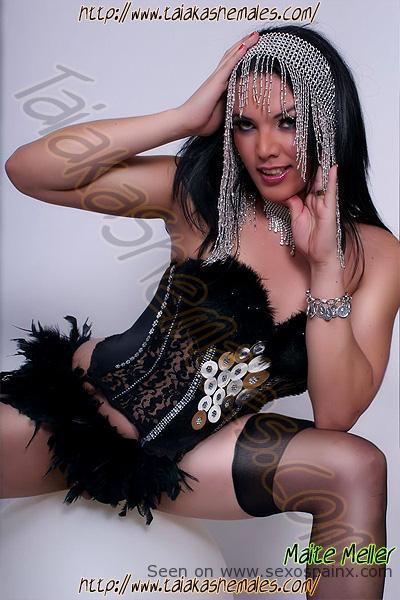 Diosa Transexual Maite Meller Travestis Sevilla