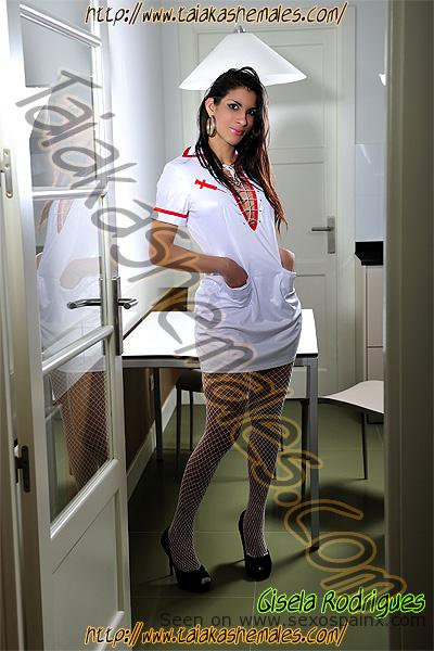 Gisela Rodrigues bellisima cuerpazo de modelo en Travestis Zaragoza