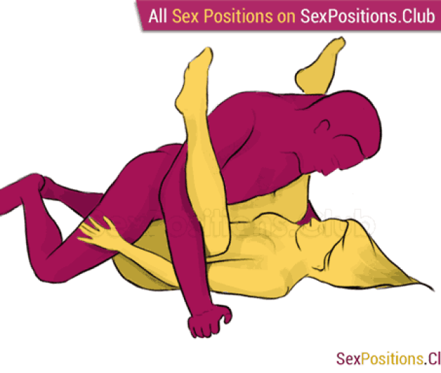 Sex Position  Eagle Face To Face Lying Down Man