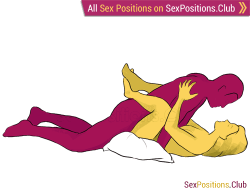 Sex Position 29 Harmony Face To Face Lying Down Man