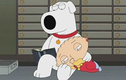 Brian Griffin and Stewie