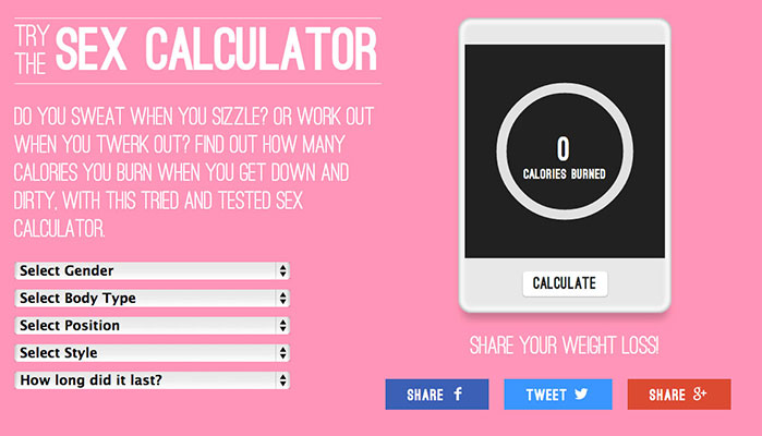 Sex Calculator