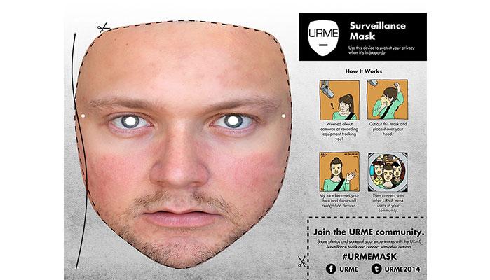 Artist's Proposal to Foil Surveillance