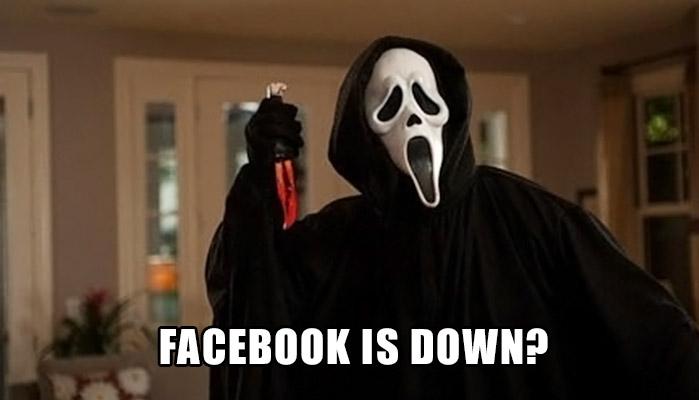 #facebookdown