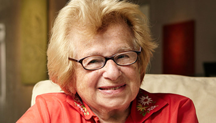New Book from Dr. Ruth on Sex & Mythology