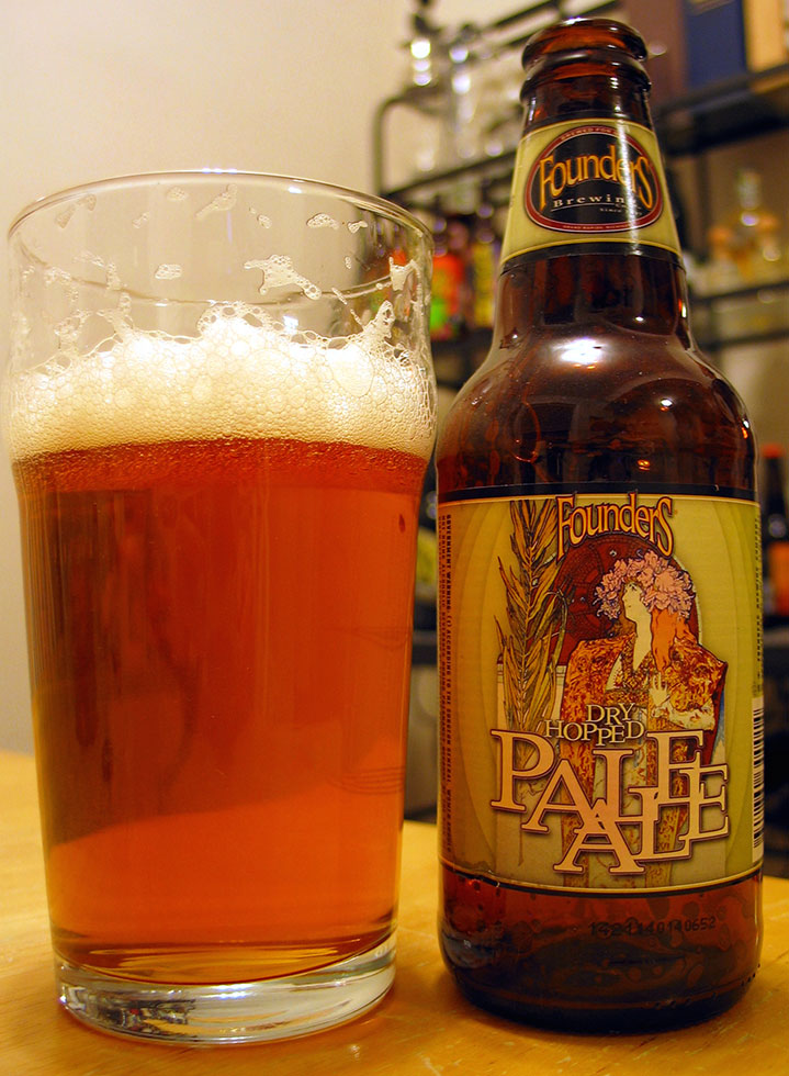 Henry Deltoid's Beer Review: Founders Dry Hopped Pale Ale