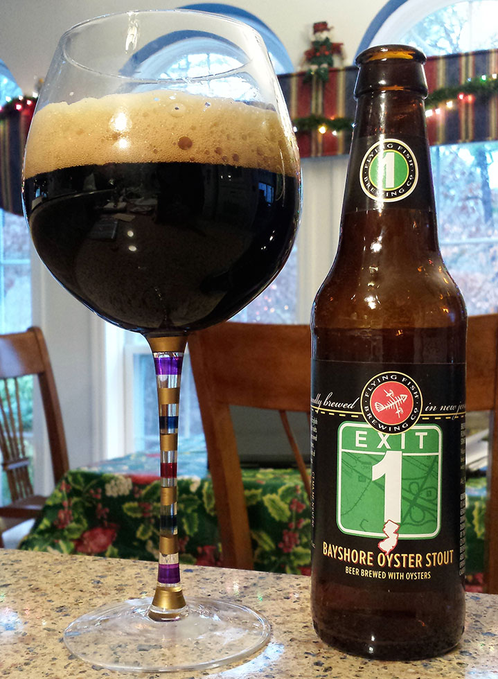 """Henry Deltoid's Beer Review: """"Exit 1"""" Bayshore Oyster Stout"""