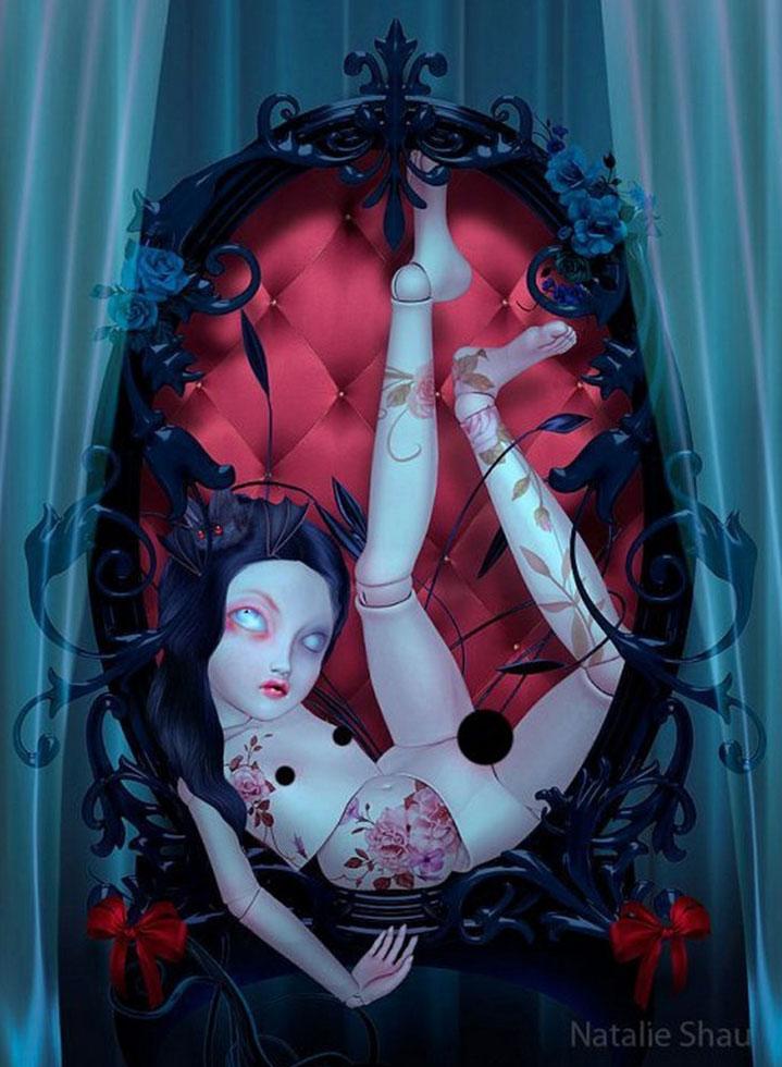 The Artwork of Natalie Shau