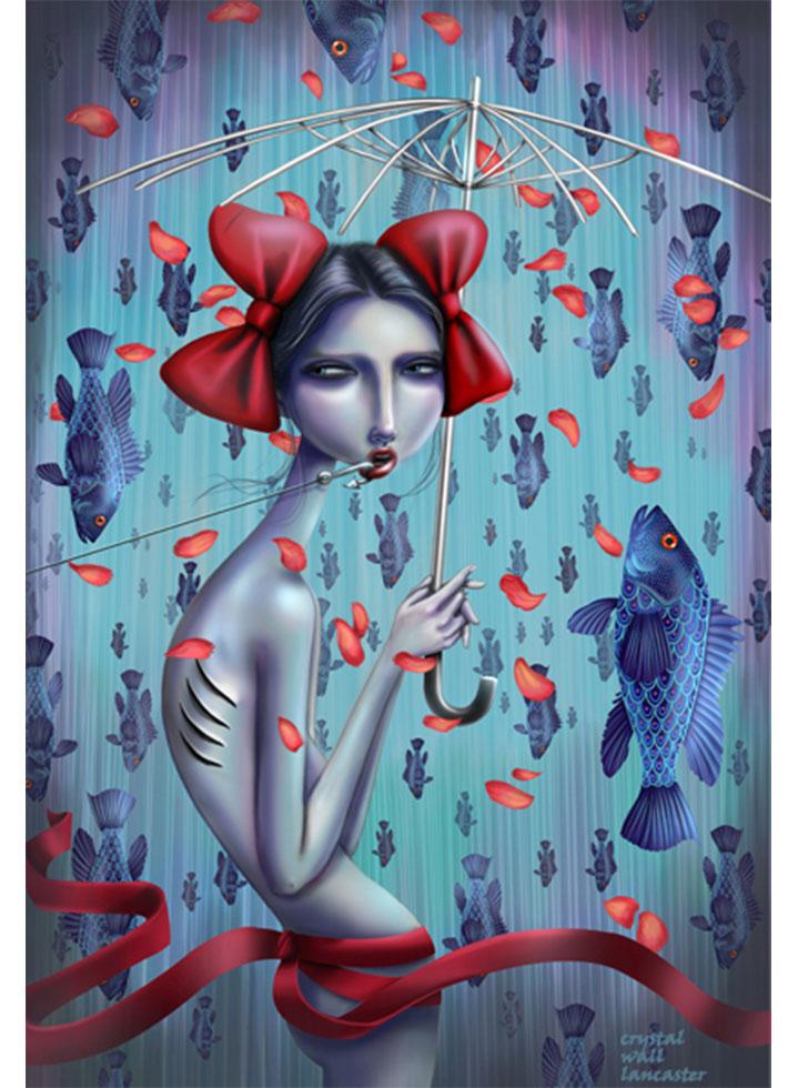 Digital Artist Crystal Wall Lancaster