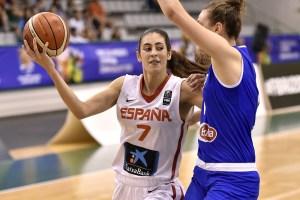 María Conde / Foto vía FIBA