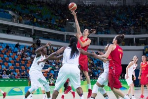 Alba Torrens | Foto vía: FIBA