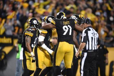 La defensa de Pittsburgh tuvo una buena noche (steelers.com)