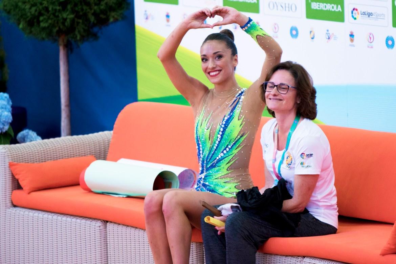 Natalia García ovacionada por el público