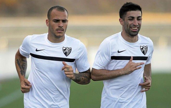 Michael Santos (derecha) estuvo toda la temporada a la sombra de Sandro (Foto: Diario Sur)
