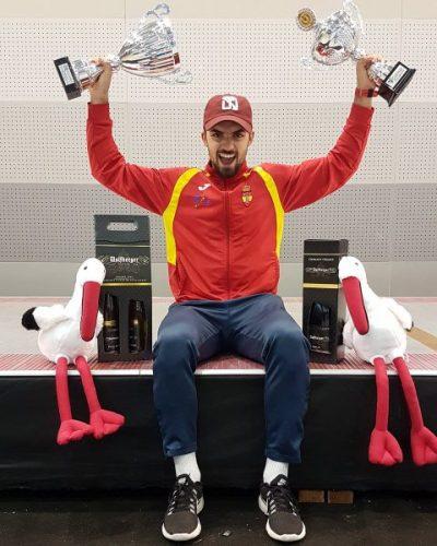 Alvaro Ibañez - Medalla de Oro en Colmar