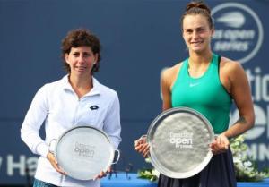 Final WTA Suarez vs Sabalenka