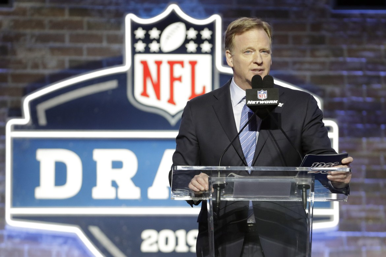 George Goodell NFL Draft 2019