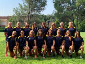 waterpolo, juvenil, equipo, españa, volos, femenino