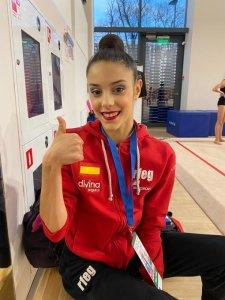 Salma Solaun en el Grand Prix de Moscú