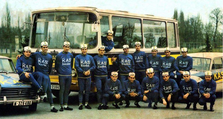 Plantilla del equipo Kas de 1969