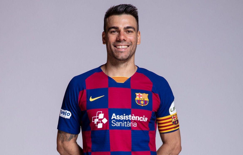 """Sergio Lozano """"El Búfalo"""", capitán del Barça"""