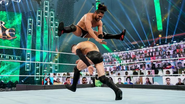 En WWE Superstar Spectacle, Finn Bálor vs Guru Raaj