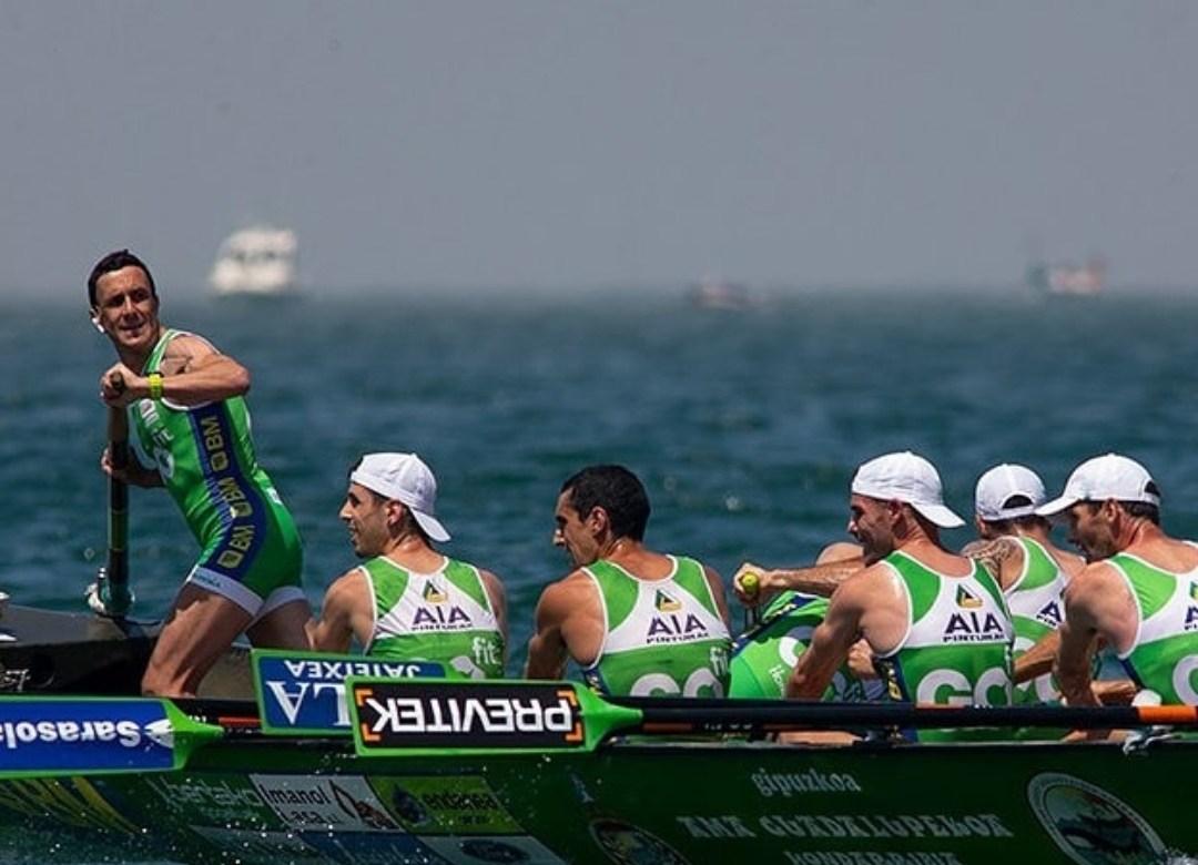 Hondarriabia en regata.(Fuente ACT).