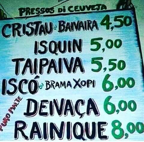 placas com erros de portugues Sextou
