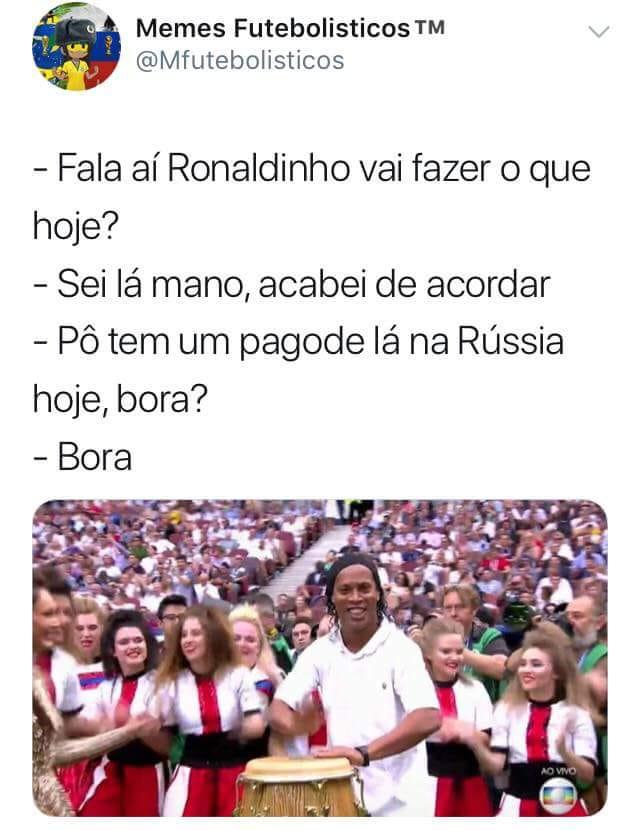 Ronaldinho rei do rolê aleatório 1