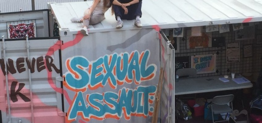 Travelling Art Gallery Gives Voice and Representation to Sexual Assault Survivors