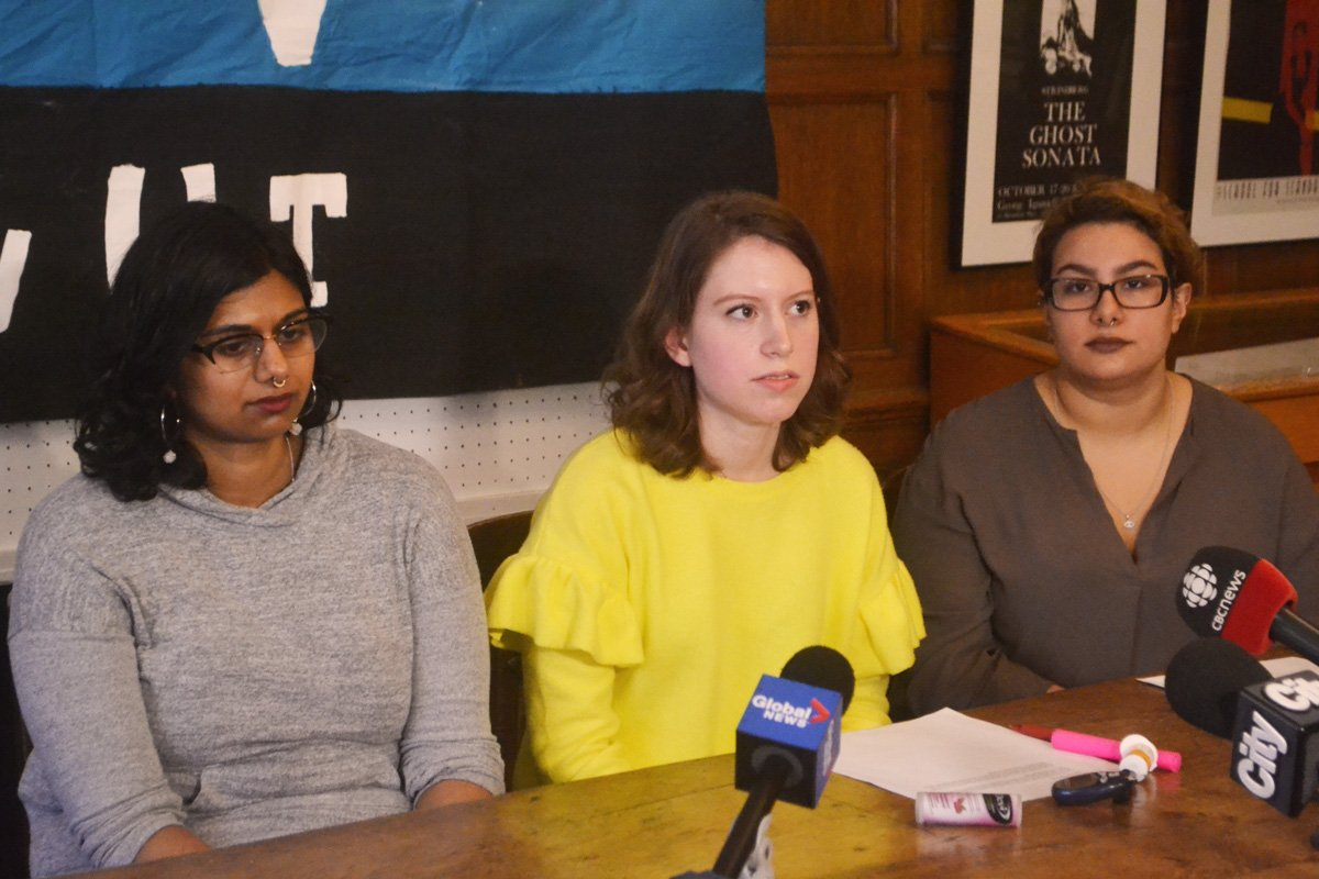 READ: Student says U of T mishandled her rape report, files human rights complaint