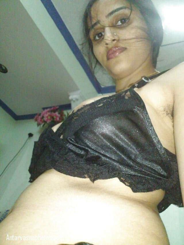 black lacy bra me sexy photo