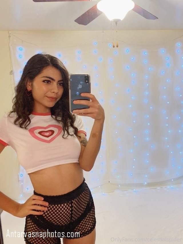 sexy lingerie pahan selfie li hot babe
