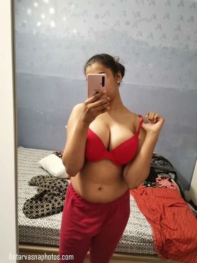 hot red girl ka sexy andaj