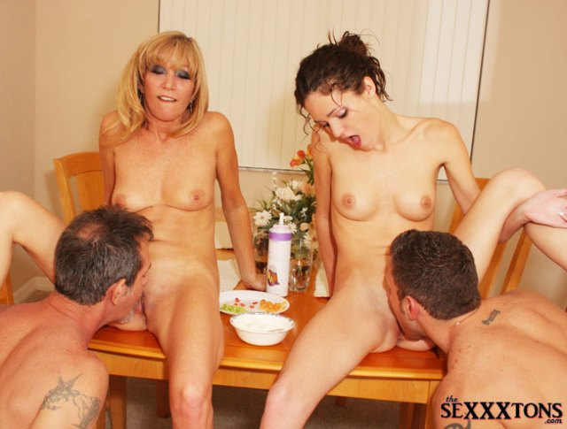 Monica And Jessica Like To Entertain Guests For Dinner And Their Guests Dont Mind Eating Whats On The Table Nothing Like Being Served A Delicious Dinner