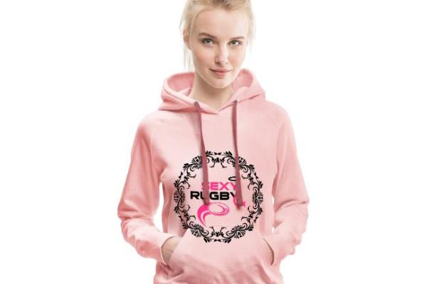 boutique rugby rugby hoodie ho an'ny vehivavy