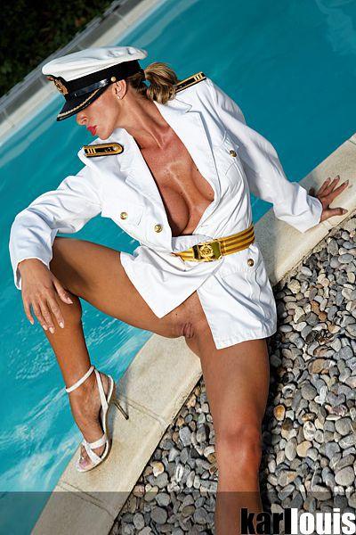 Francesca Felucci Pool Navy 06