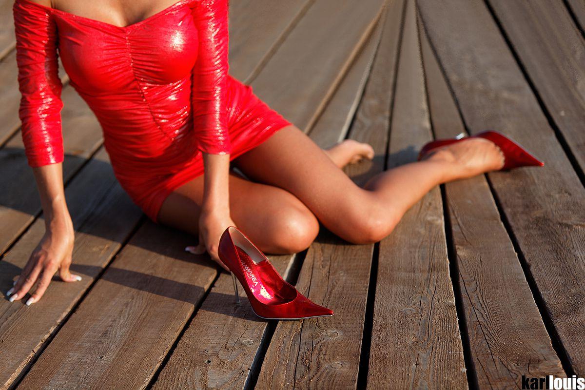 Francesca Felucci The Red Dress