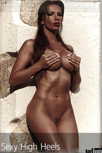 Francesca Felucci Nude Red Heels 02