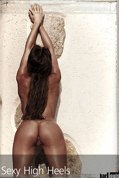 Francesca Felucci Nude Red Heels 06