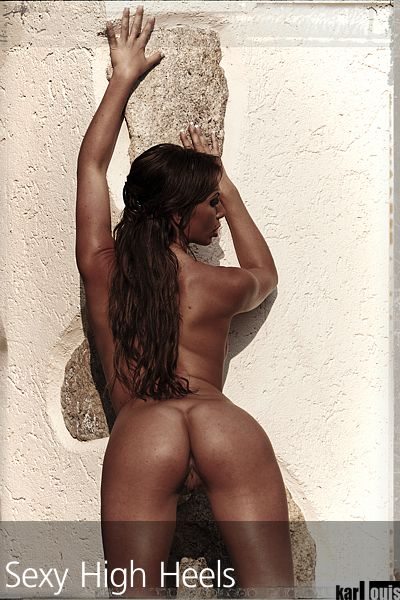Francesca Felucci Nude Red Heels 10
