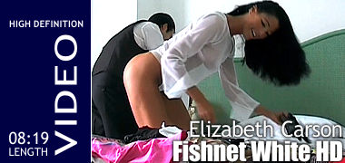 Elizabeth Carson Fishnet White HD