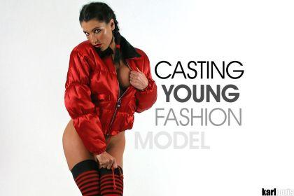 Elizabeth Carson - Casting Young Fashion Model