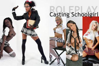 Casting Schoolgirl Roleplay