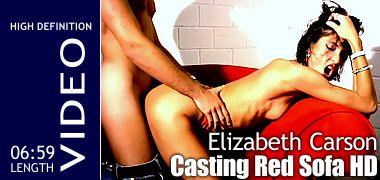 Elizabeth Carson - Casting Red Sofa HD