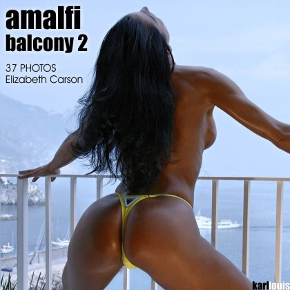Elizabeth Carson - Amalfi Balcony 2
