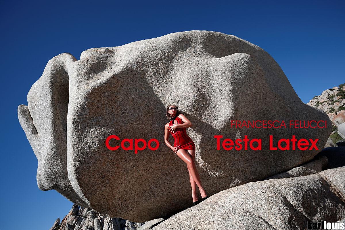 Francesca Felucci - Capo Testa Latex