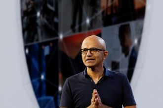 Chief Executive Officer Satya Nadella at Microsoft Ignite 2018