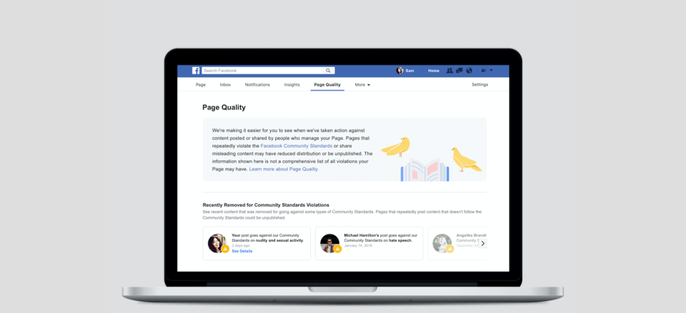 Making Facebook Pages More Transparent and Accountable